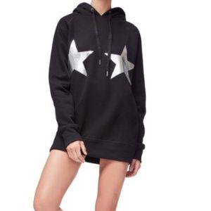 Good American Stars and Stripes black hoodie
